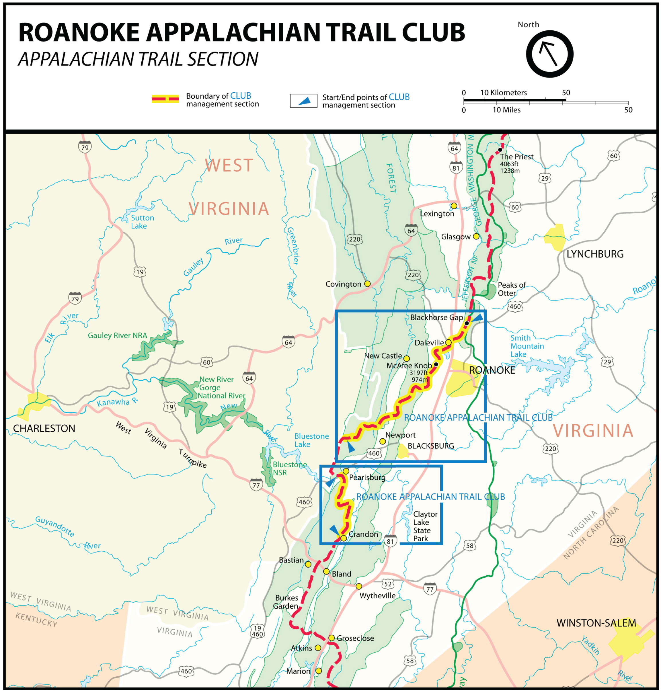 AT Hiking – Roanoke Appalachian Trail Club