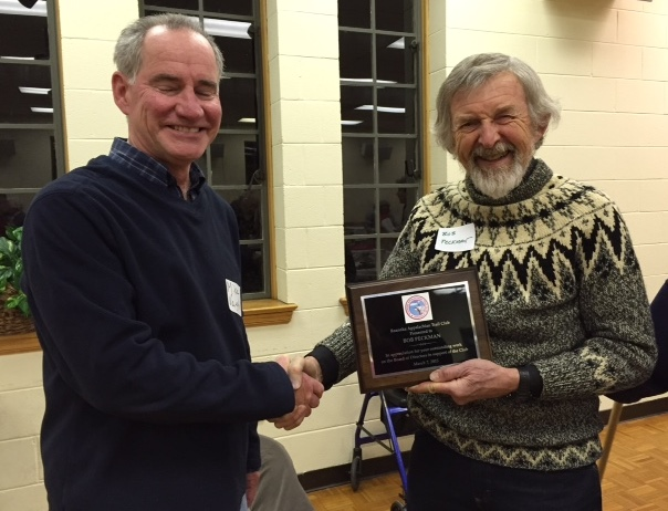 Bob Peckman Honored