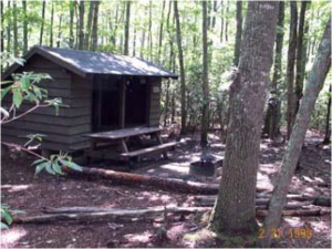 Laurel Creek shelter
