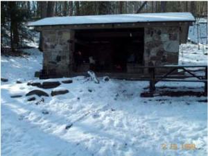 Pine Swamp shelter