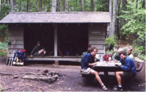War Spur shelter