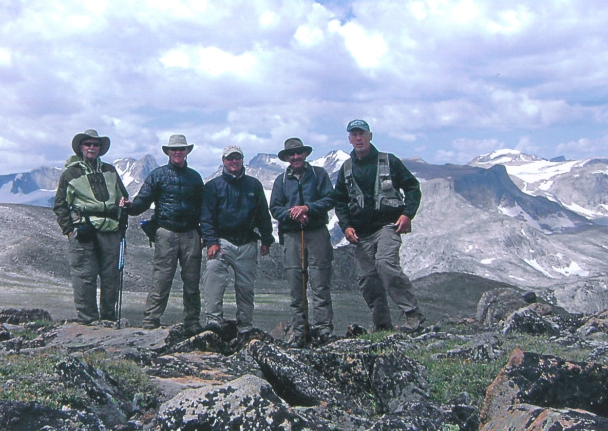 Holiday Potluck ~ December 5 ~ Wyoming's Wind River Mountains