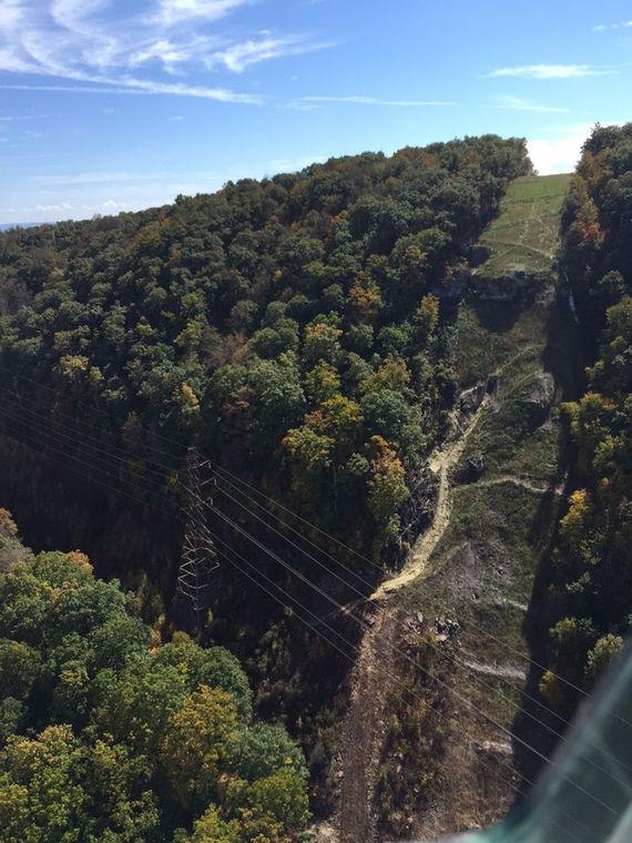 12 inch giles pipeline erosion