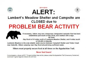 Lamberts Meadow Closure sign.1 5.16